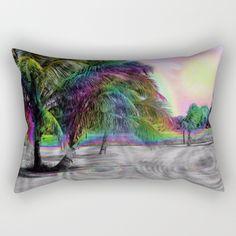 rectangular pillow, kristalin davis, society6, nature