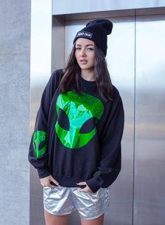 Jade Clark Alien Jumper - Unisex - MERCY-MERCI dopee