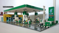 Image of a petrol station.
