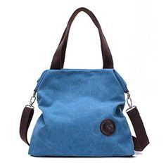 Casual Canvas Shoulder Cross-body Handbag