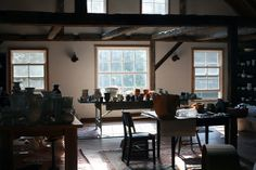Frances Palmer's studio / by Amy Merrick