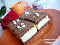 Gabriella kalandjai a konyhában :): krémes sütemény Cake, Sweet, Food, Candy, Kuchen, Essen, Meals, Torte, Cookies