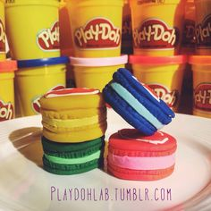 #Playdoh #Macarons