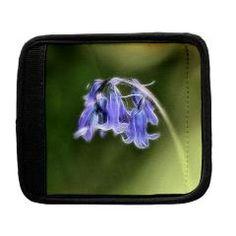 Little Bluebells Luggage Handle Wrap> Bluebells> Rosemariesw Design Photo Gifts