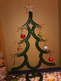 Horseshoe Christmas Tree For Sale.24 Best Stuff I Made Images Horseshoe Art Horseshoe