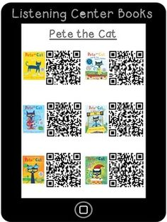 LISTENING CENTER QR CODES IPAD