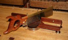 Steampunk adjustable miter box