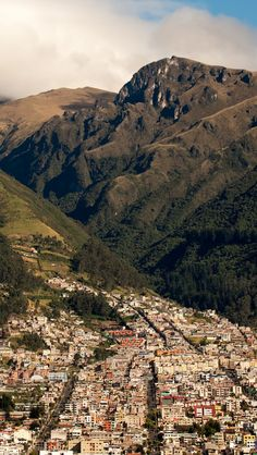 Quito, Ecuador nabs title of leading South American destination 2014 - Yahoo News Places To Travel, Places To See, The Places Youll Go, Andes Mountains, Snowy Mountains, Destinations, Islands In The Pacific, Quito Ecuador, Les Continents