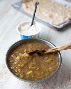 raparperipiirakka-vaihe-4 Kermit, Ethnic Recipes, Food, Essen, Meals, Yemek, Eten
