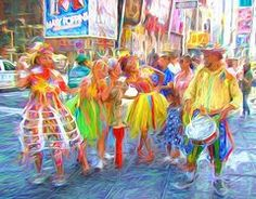 Featured Art - Brazil Day Colors  by Alice Gipson
