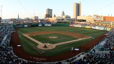 Fort Wayne, IN - Parkview Field has received rave reviews from locals and national awards recognizing its unique and versatile design. The Fort Wayne TinCaps, farm team of the San Diego Padres, play here.