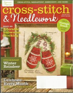 Cross Stitch & Needlework   No 1   2014