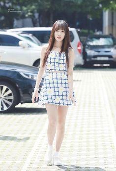 Gfriend Yuju, Cloud Dancer, G Friend, Pin Up Art, Kpop Fashion, Asian Beauty, Girl Group, Fashion Dresses, Pure Products