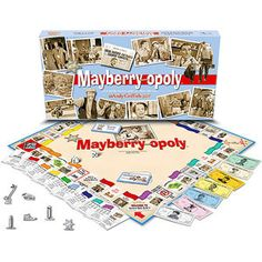 Mayberry-Opoly Board Game! The Andy Griffith Show.