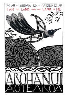 "Check out Amber Smith Print ""I am the Land"" at New Zealand Fine Prints Maori Symbols, Maori Patterns, Maori Designs, New Zealand Art, Nz Art, Maori Art, Kiwiana, Light In The Dark, Printmaking"