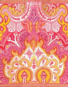 pink & yellow pattern