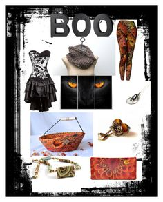 """Happy Halloween"" by wexfordtreasures ❤ liked on Polyvore featuring Crate and Barrel"