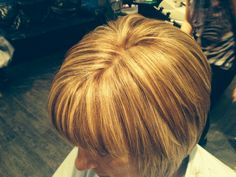 Gorge honey blonde highlights