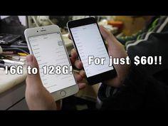 Aumentar a memória do iPhone de 16 para 128GB por 60 dólares | O futuro é Mac