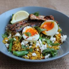 Curious to find out more about Candice Bresler's Kedgeree recipe? Simply click on the pic! #picknpay #freshlyblogged #recipe