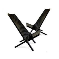 Vifah Chair in Black Stain Finish Wood Patio Chairs, Adirondack Chairs, Outdoor Chairs, Outdoor Decor, Home Furniture, Outdoor Furniture, Modern Patio, Decor Styles, Teak