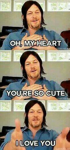 I love you, too, Norman!