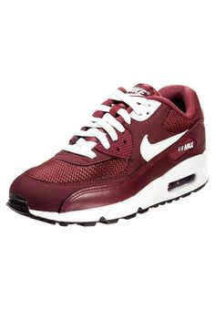 FRfLg) Hommes Nike Air Max 90 Essential Traines Bourgogne Blanc 63,82 € http