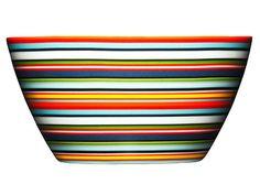Peter's of Kensington | iittala - Origo Orange Stripe Bowl 14cm
