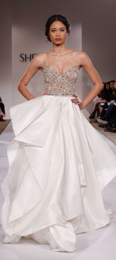 NY: Sherri Hill - Runway - Mercedes-Benz Fashion Week Fall 2015 http://thepageantplanet.com/category/pageant-wardrobe/ A MISS UNIVERSE KIND OF DRESS!