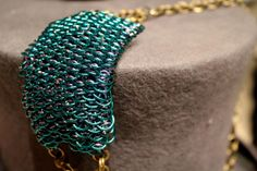 Dragon's Pendant Chainmaille Necklace by EotBDesigns on Etsy, $116.00