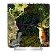Natural Man Shower Curtain by Joseph Mosley