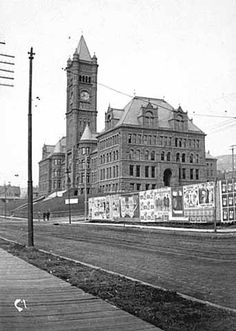 Central High School, Duluth.  Photograph Collection 1898