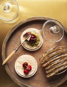 Le foie gras et la cerise - Domaine des Etangs #Gastronomie #cherry #foiegras #foie #gras #france