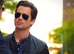 That time he wore a leather jacket. | 39 Times Neal Caffrey Was The Sexiest Man On TV