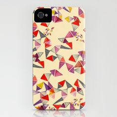 watercolour geometric shapes  by Vasare Nar  IPHONE CASE / IPHONE (4S, 4)  $35.00