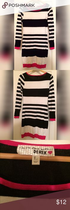 Sweater dress New sweater dress. Tight fitting but has lots of stretch. I wear this style of dresses in the winter (since it's not so cold where I'm from) with leggings r black party house. Derek Heart Dresses