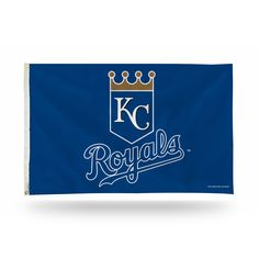 Rico Industries Kansas City Royals MLB 5 Foot Banner Flag