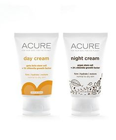Acure Organics Anti-Aging Natural Day and Night Face Cream With Argan Oil Bundle: Acure Organics Anti-Aging Natural Day and Night Face Cream With Argan Oil Bundle All Natural Skin Care, Organic Skin Care, Anti Aging Tips, Anti Aging Skin Care, Argan Oil Eyes, Argan Oil Night Repair Serum, Argan Oil Skin Benefits, Acure Organics, Night Face Cream