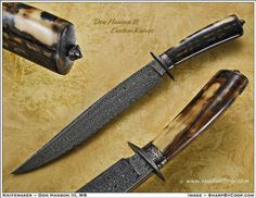© Don Hanson Custom Knives                                                                                                                                                                                 More
