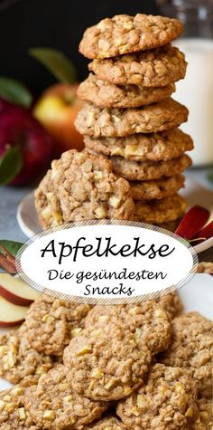 Die 5 gesündesten Snacks, die Sie jetzt ausprobieren müssen The 5 healthiest snacks you need to try now The post The 5 healthiest snacks you need to try now & Rezepte appeared first on Vegan recipes . Delicious Cookie Recipes, Healthy Pasta Recipes, Baby Food Recipes, Baking Recipes, Sweet Recipes, Healthy Snacks, Vegan Recipes, Dessert Recipes, Healthiest Snacks