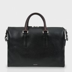Paul Smith Men's Bags - Pebble Embossed Leather Business Folio