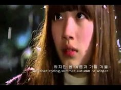 Dream High MV - Winter Child by Suzy [Eng Sub] + [Hangul] - YouTube  本当にLovelyなbirthday songです♪♡天使のような歌声です.:*:・'°☆  Masterして、誰かのbirthdayで歌いたい位♪ Lovely song.:*:・'°☆