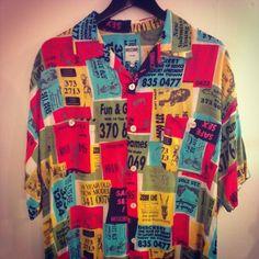 Photo by rufusa78    #moschino #mymoschino #shirt #vintage