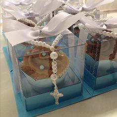 Mini cupcake primeira comunhao! #inlove  #Padgram