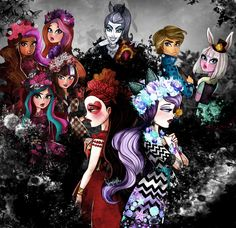 Spring Unsprung by FreshPlinfa-Ivy on DeviantArt Ever After High Rebels, Lizzie Hearts, Raven Queen, After High School, Real Queens, Fan Picture, High Art, Monster High Dolls, Fashion Sketches