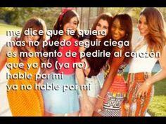 Que el Corazón No Hable por Mi (Acoustic)- Fifth Harmony (Letra/Lyrics)