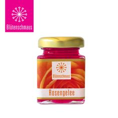 Rose jelly by Blütenschmaus Edible Flowers, Jelly, Yummy Food, Pure Products, Gourmet, Marmalade, Delicious Food, Jelly Beans, Good Food