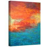 Found it at Wayfair - Herb Dickinson 'Lake Reflections II' Unwrapped Canvas Wall Art