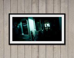 Fotografia di New York Metro stampa fineart di ArchiPhoto su Etsy, €24.00