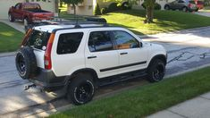 Lifted Honda CRV #carcampingideasvehicles